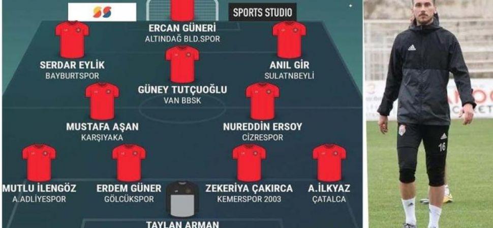 B.Vanspor'da  Batuhan gol kralı, Güney ilk on birde…