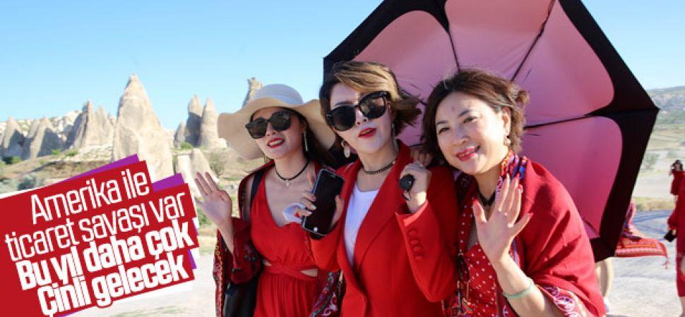 Ülkemize Çin'den gelen turist sayısı artacak