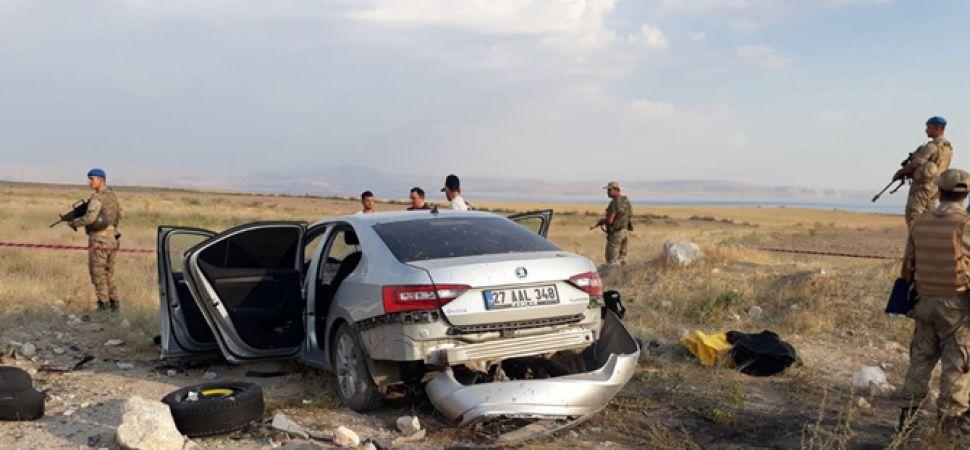 Bakan Yardımcısı Ahmet Haluk Dursun Van'da Kaza Yaptı