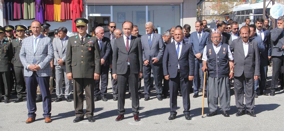 Başkale'de 19 Eylül Gaziler Günü Törenle Kutlandı