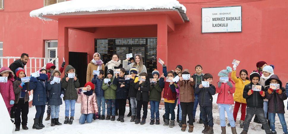 Başkale'den Kütahya'daki Kardeş Okula Sevgi Mektubu