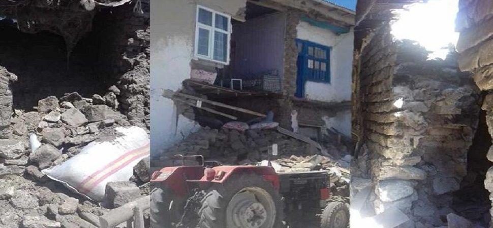 SON DAKİKA Van ın ilçesinde Özalp'ta 5.4'lük deprem!