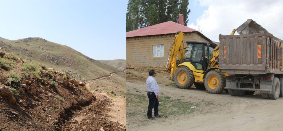 Başkale\'nin Kırsal Mahallelerinde Hummalı Çalışma