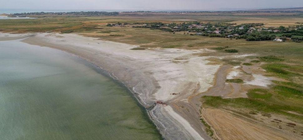 Van Gölü'nde, son yıllarda önemli oranda su kaybı yaşanıyor.