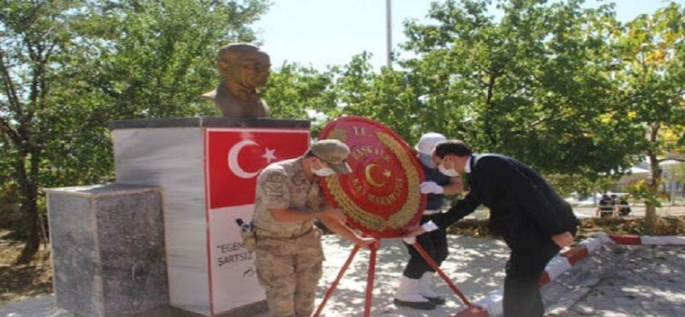 Başkale\'de 19 Eylül Gaziler Günü programı düzenlendi.