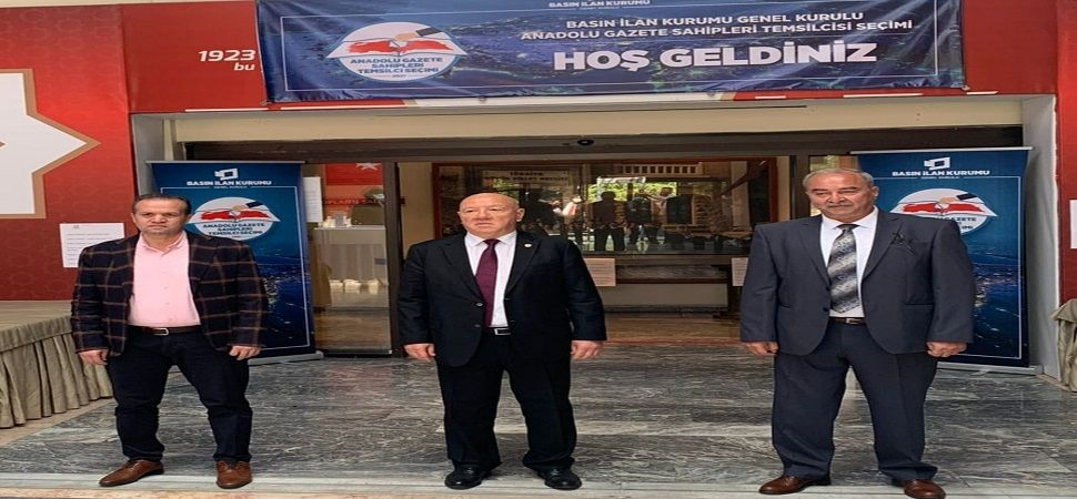 Anadolu gazete sahiplerinin BİK temsilcileri güven tazeledi.