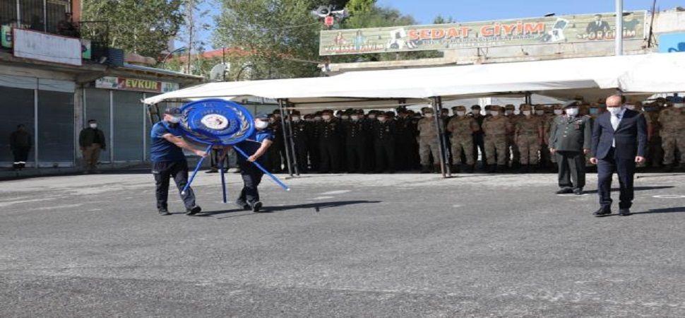 Başkale de 19 Eylül Gaziler Günü kutlandı