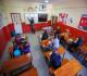 Başkale'nin  Sınır köyünde görevli öğretmen gönüllerde taht kur