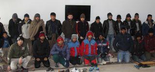 Başkale'de 30 Düzensiz Göçmen Yakalandı