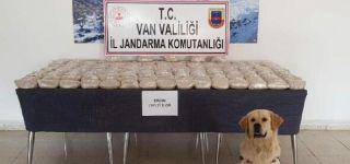 Başkale'de 101 kilo eroin ele geçirildi