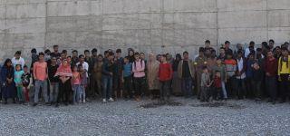 Başkale 'de 108 Kaçak göçmen yakalandı.