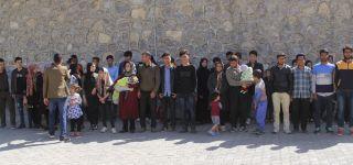 Başkale'de 115 düzensiz göçmen yakalandı
