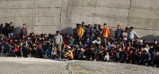 Başkale 'de 284 Kaçak göçmen yakalandı.
