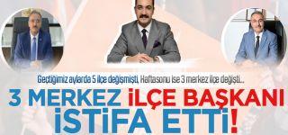 AK Parti'nin Van'daki 3 ilçe başkanı istifa etti