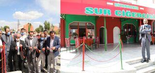 Başkale'de Diyarbakır Sur Ciğercisi Açıldı