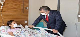 Sağlık Bakanı Koca Van da son durumu değerlendirdi.
