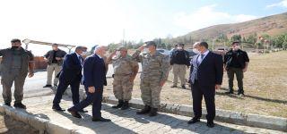İçişleri Bakan Yardımcısı Tayyip Sabri Erdil'in Başkale ziyareti