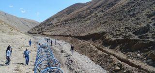 Başkale'deki içme suyu hattı VASKİ tarafından yenilendi