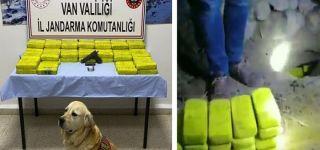 Başkale'de 61 kilo eroin ele geçirildi