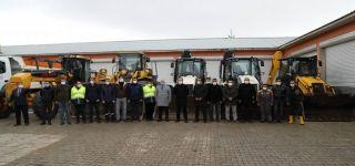 Başkale Belediyesi Karla Mücadele Ekipleri Kışa Hazır