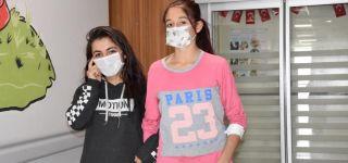 14 yaşındaki Rojbin'in karaciğerinden 20 santimetrelik kist alındı