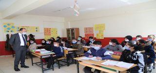 Kaymakam Asım SOLAK'tan okul ziyareti