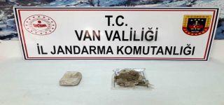 Başkale'dae1 kilo 622 gram eroin ele geçirildi