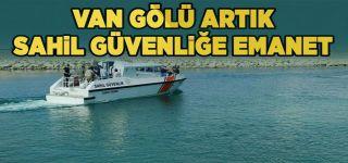 Van Gölü Sahil Güvenlik Komutanlığı'na emanet
