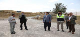 Başkan Vekilli Asım Solak ilçedeki yatırımları inceledi