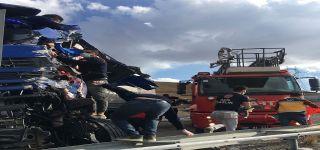 Başkale'de Feci Kaza: 1'i Ağır 2 Yaralı