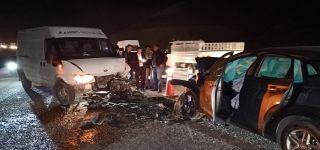 -Başkale'de iki araç çarpıştı: 4 yaralı